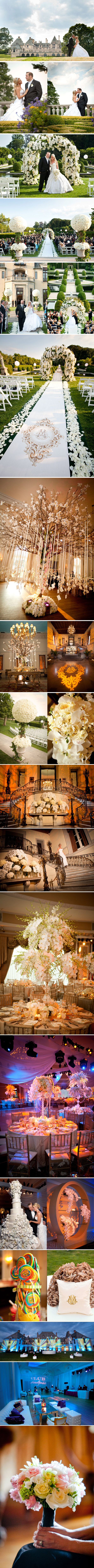 Wedding at the Oheka Castle