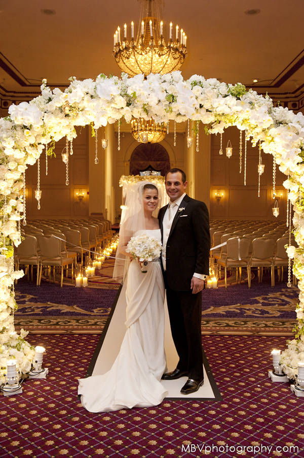 Wedding at the Roosevelt Hotel NYC