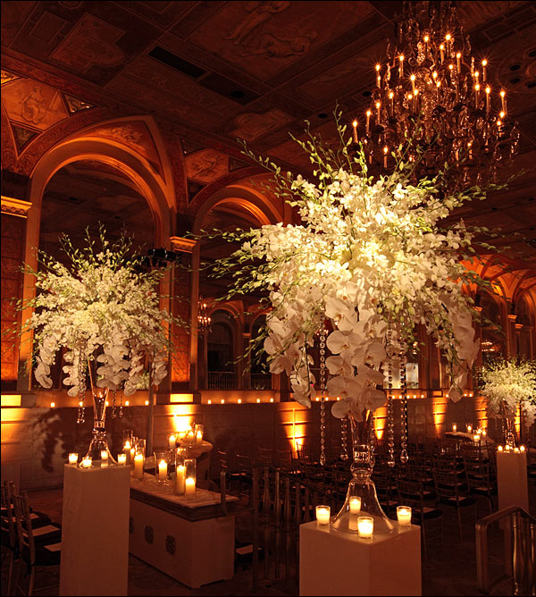 Ceremony Floral Design at the Plaza Hotel NYC