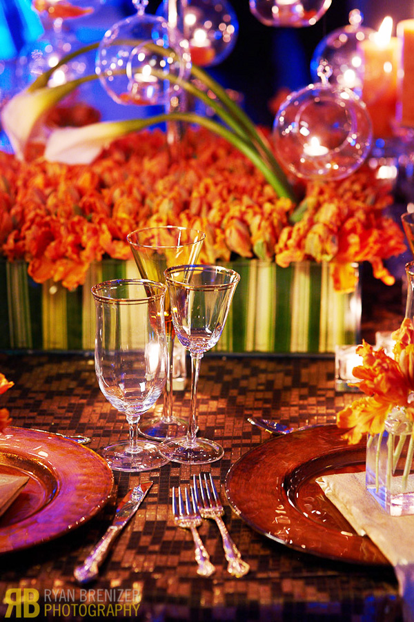 The Fall Flower Tabletop Design