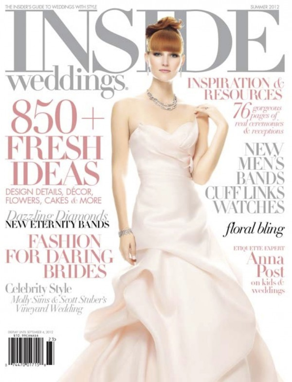 Tantawan Bloom in Inside Wedding Magazine 2012