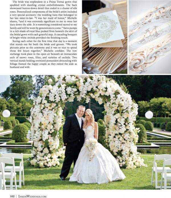 Married in Oheka Castle