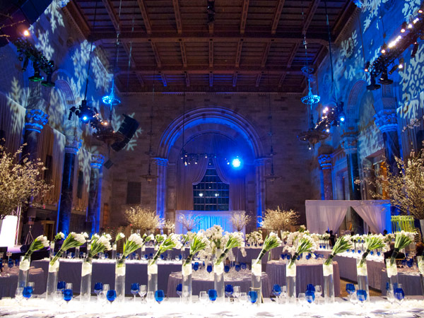 Beautiful floral design a the Cipriani 42nd Street