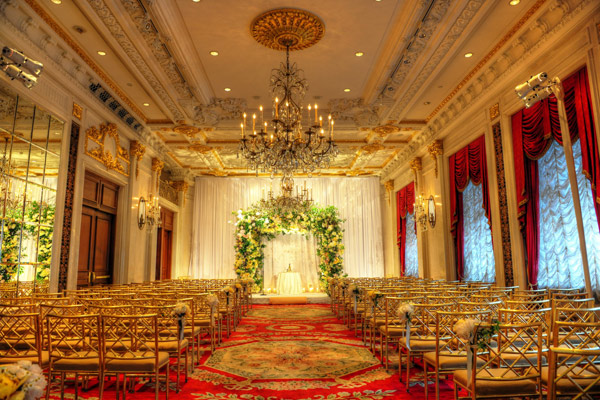 Chuppah Design for Leandra Medine Wedding in St.Regis Hotel