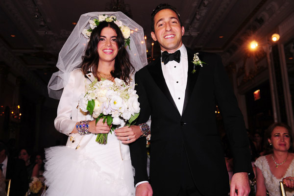Leandra Medine's Marriage at St.Regis