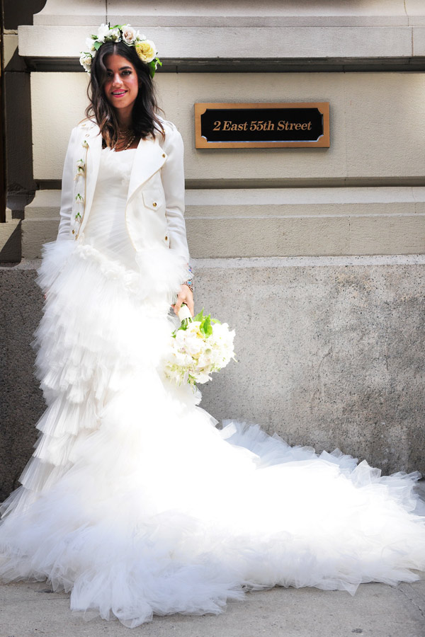 Leandra Medine Wedding Dress