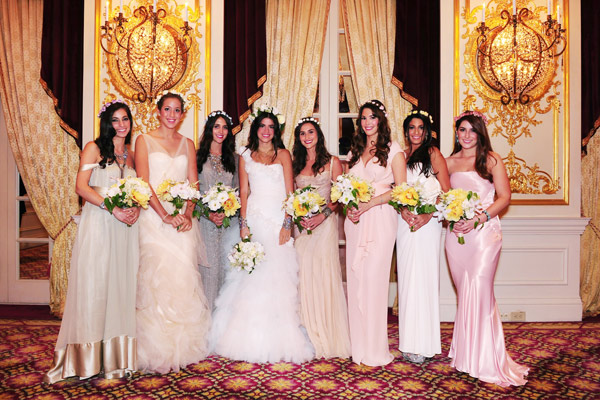 Tantawan Bloom for Leandra Medine's wedding