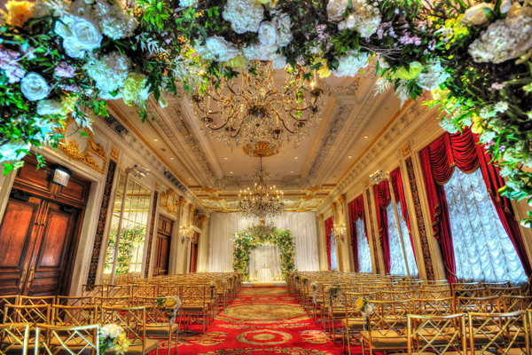 Chuppah Design from Tantawan Bloom for Leandra Medine