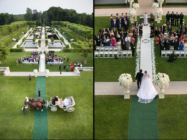 Wedding in Oheka Castle