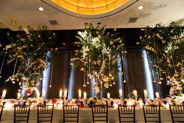 Beautiful Tree Centerpiece at Mandarin Oriental