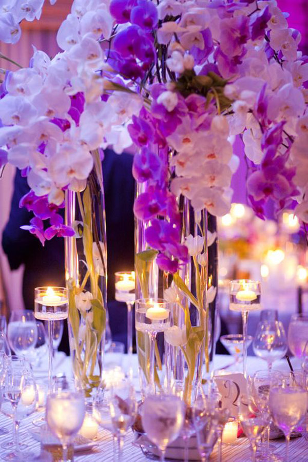 Wedding Floral Design with orchids