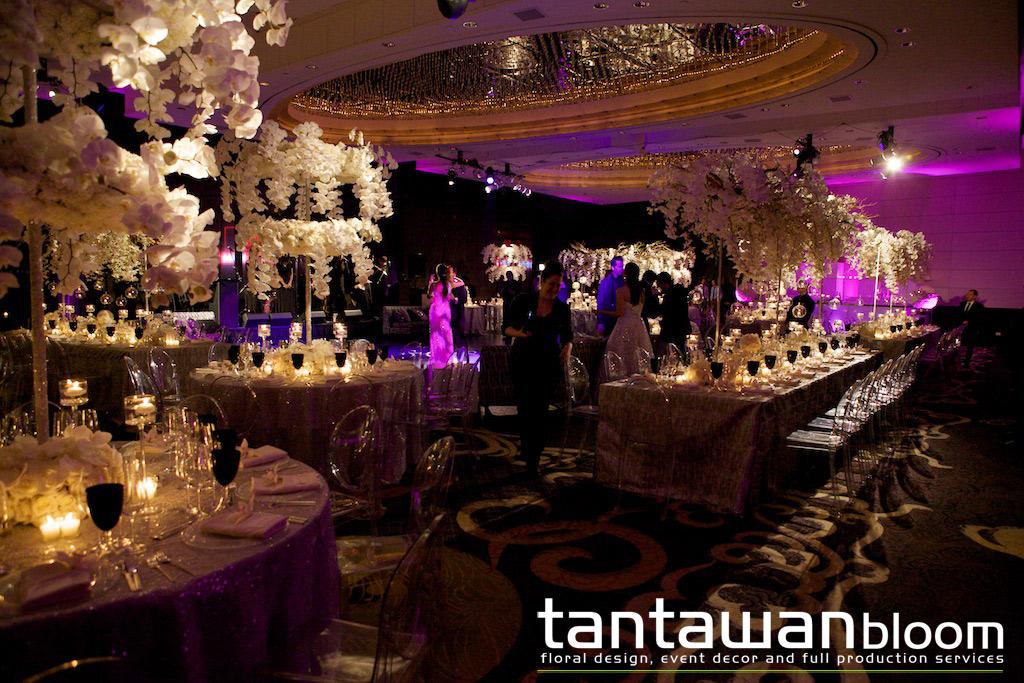 Wedding at Mandarin Oriental New York by Tantawan Bloom