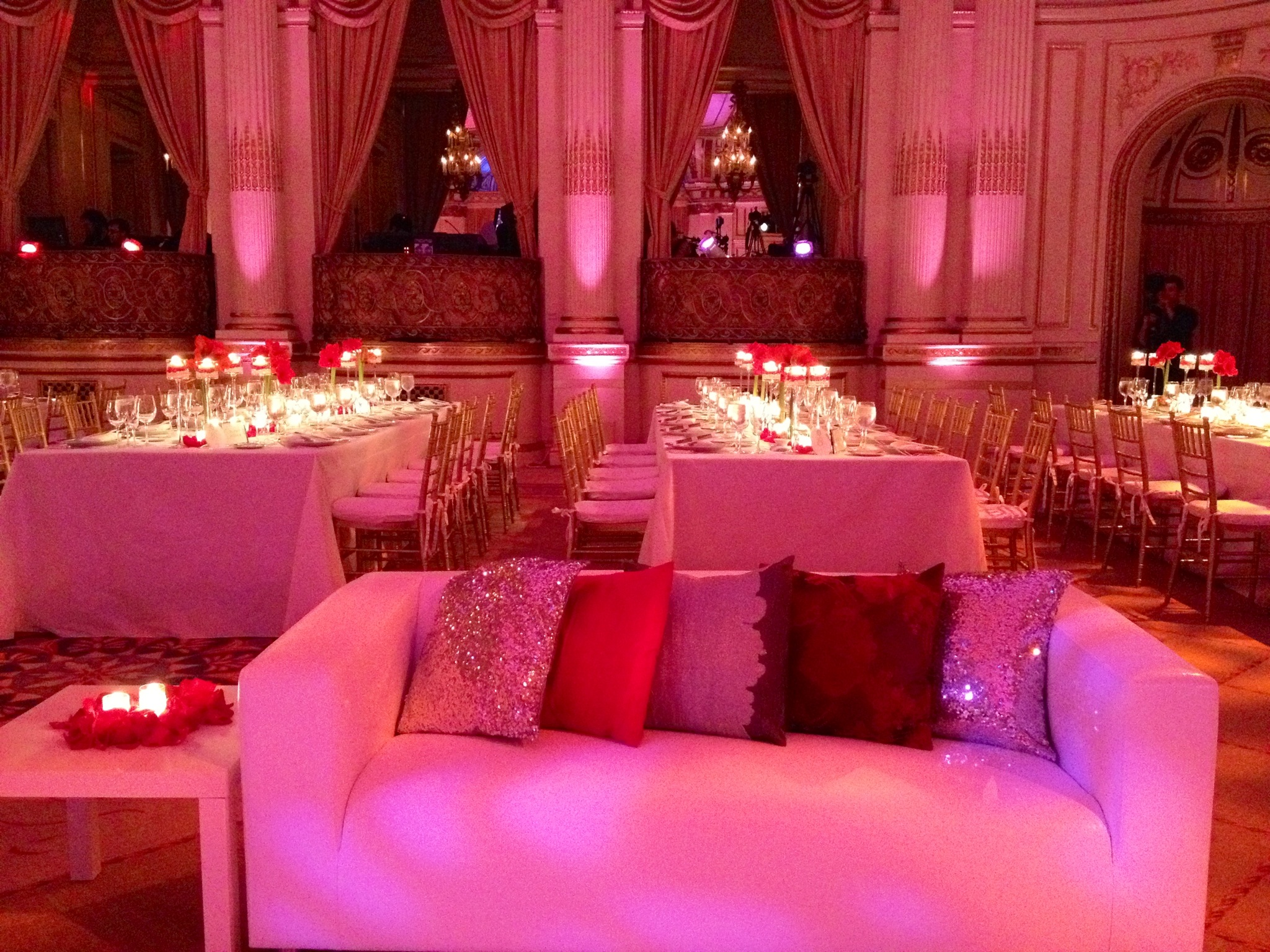 Wedding in the Plaza Hotel