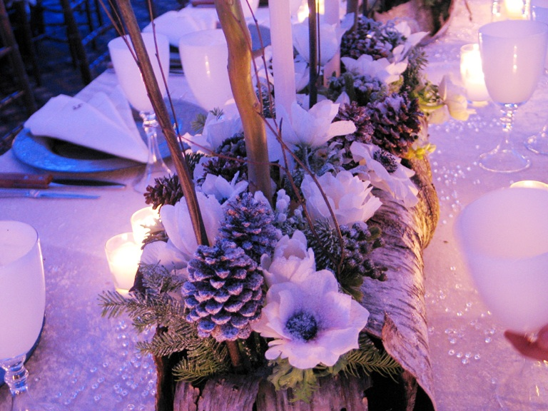 Tantawan Bloom: Winter in the Wonderland Wedding Theme