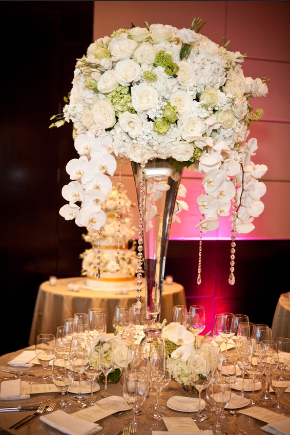 Beautiful Wedding Floral Centerpiece