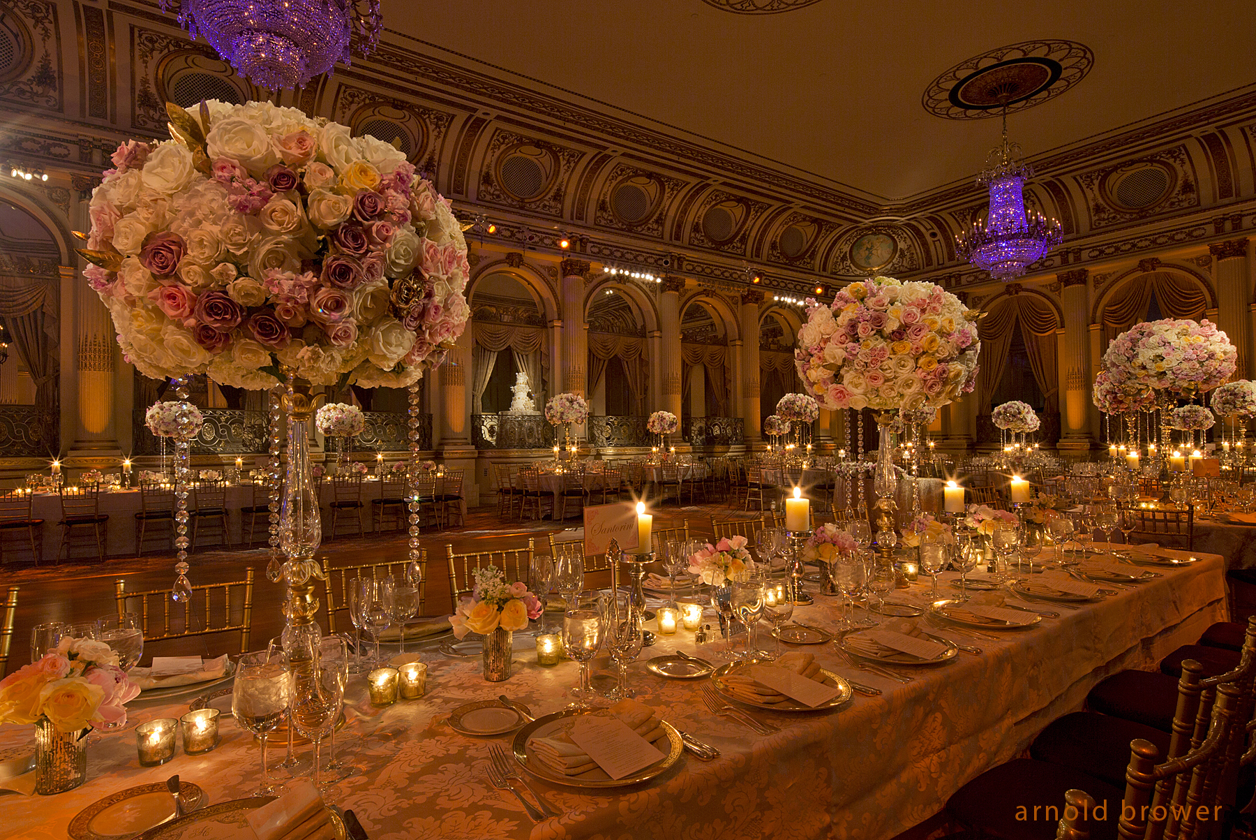 Wedding in New York City designed by Tantawan Bloom
