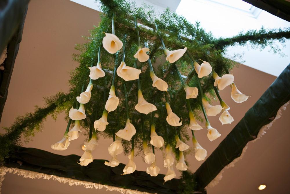The modern floral design
