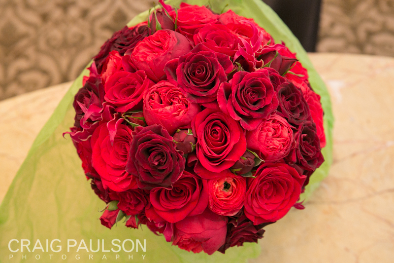 The Red Beautiful Bouquet