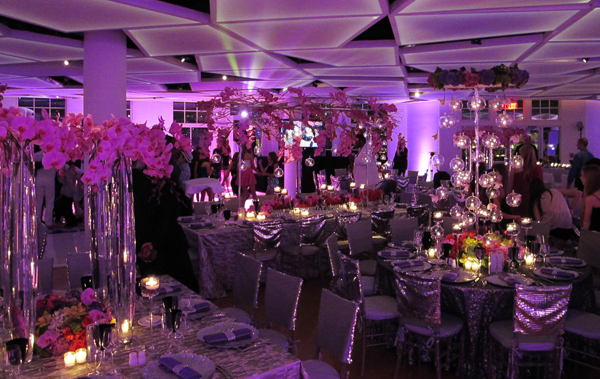 Bat Mitzvah Floral Design in New York