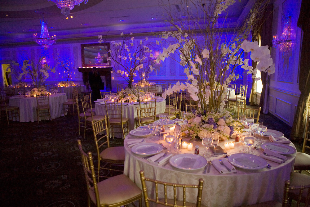 The floral wedding design in New York