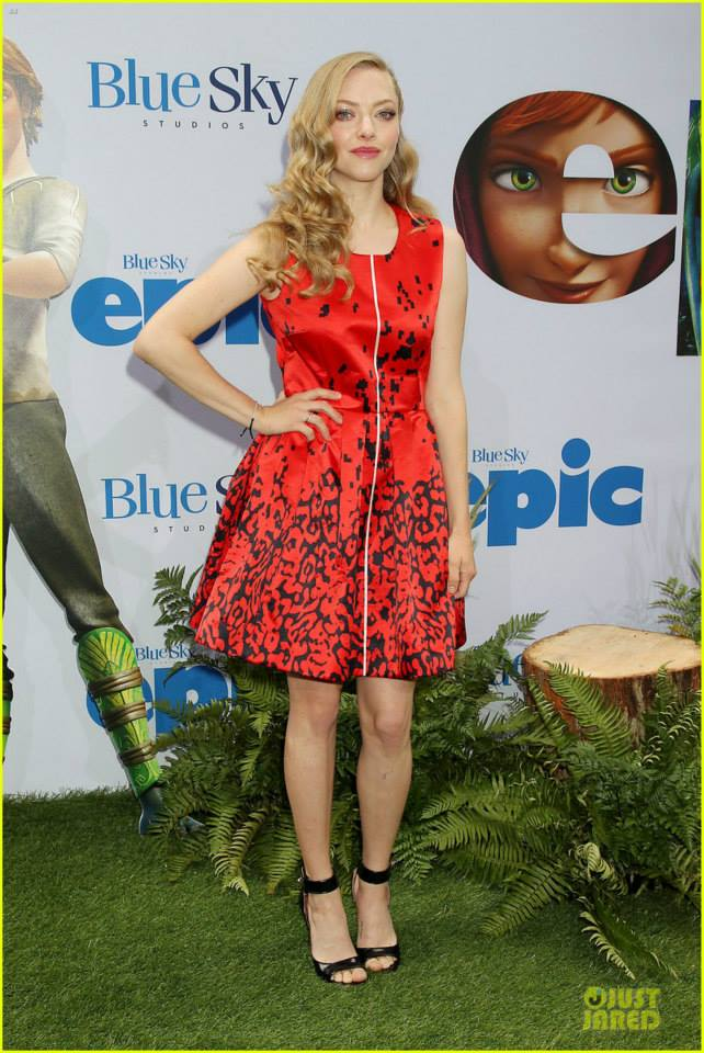 Amanda Seyfried at Epic Movie Premiere