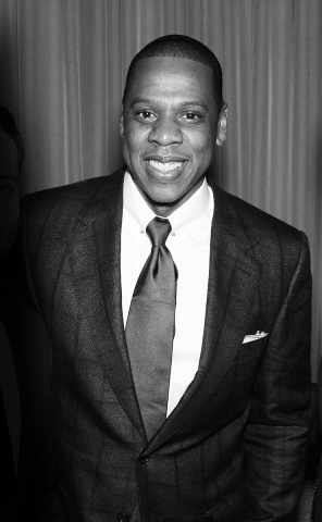Jay Z at the Great Gatsby Movie Premeire