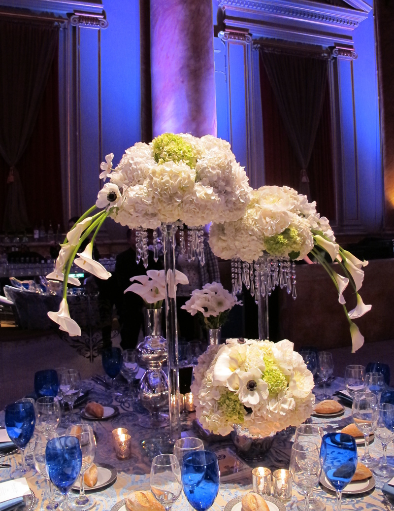 Modern Floral Design for wedding in New York