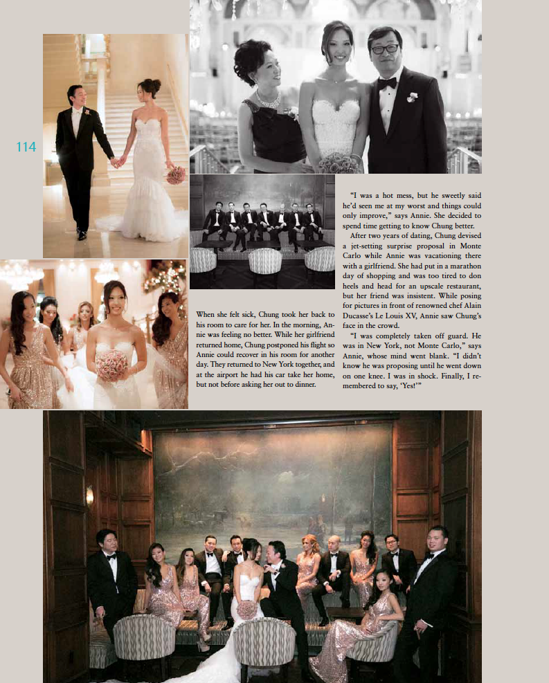Tantawan Bloom design featured in Grace Ormonde Wedding Magazine