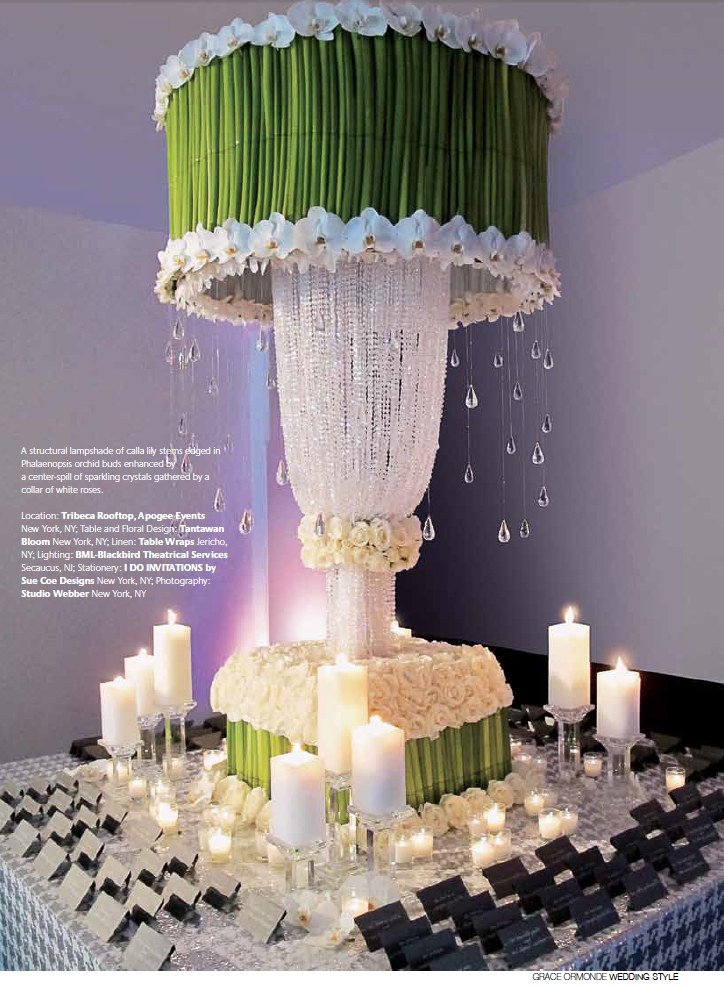 Tantawan Bloom Featured in Grace Ormonde Wedding Style Magazine
