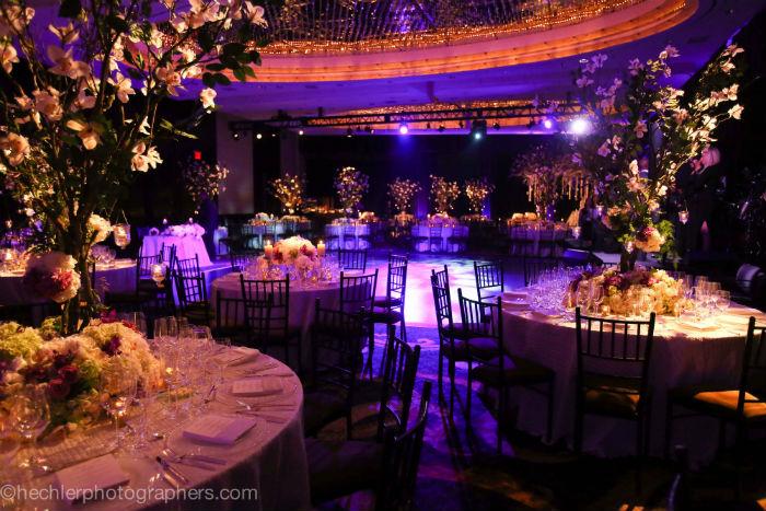 Wedding under the trees in Mandarin Oriental