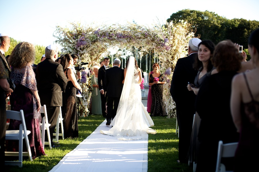 The most beautiful wedding ceremony design