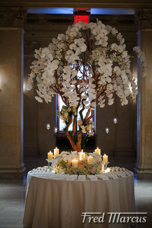 The escort card table design