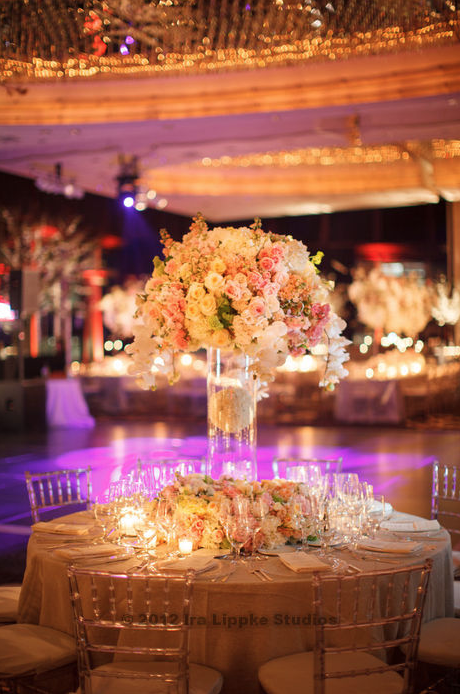 Romantic floral design in New York