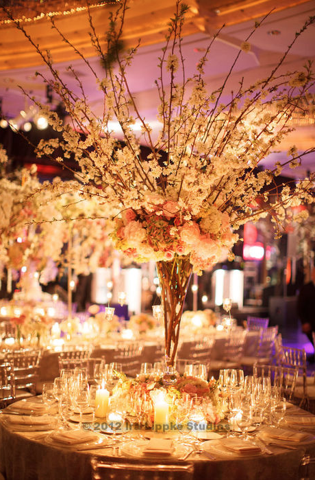 Floral design for wedding in NY