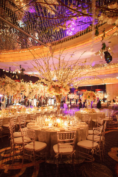 Wedding in Mandarin Oriental Hotel NY by Tantawan Bloom