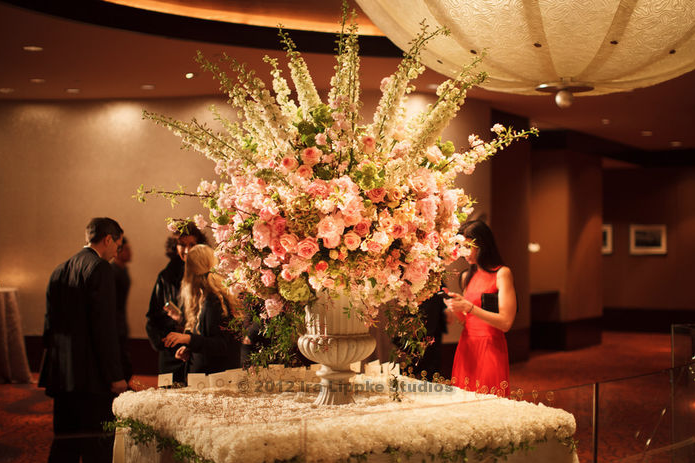 Beautiful wedding floral design in NY