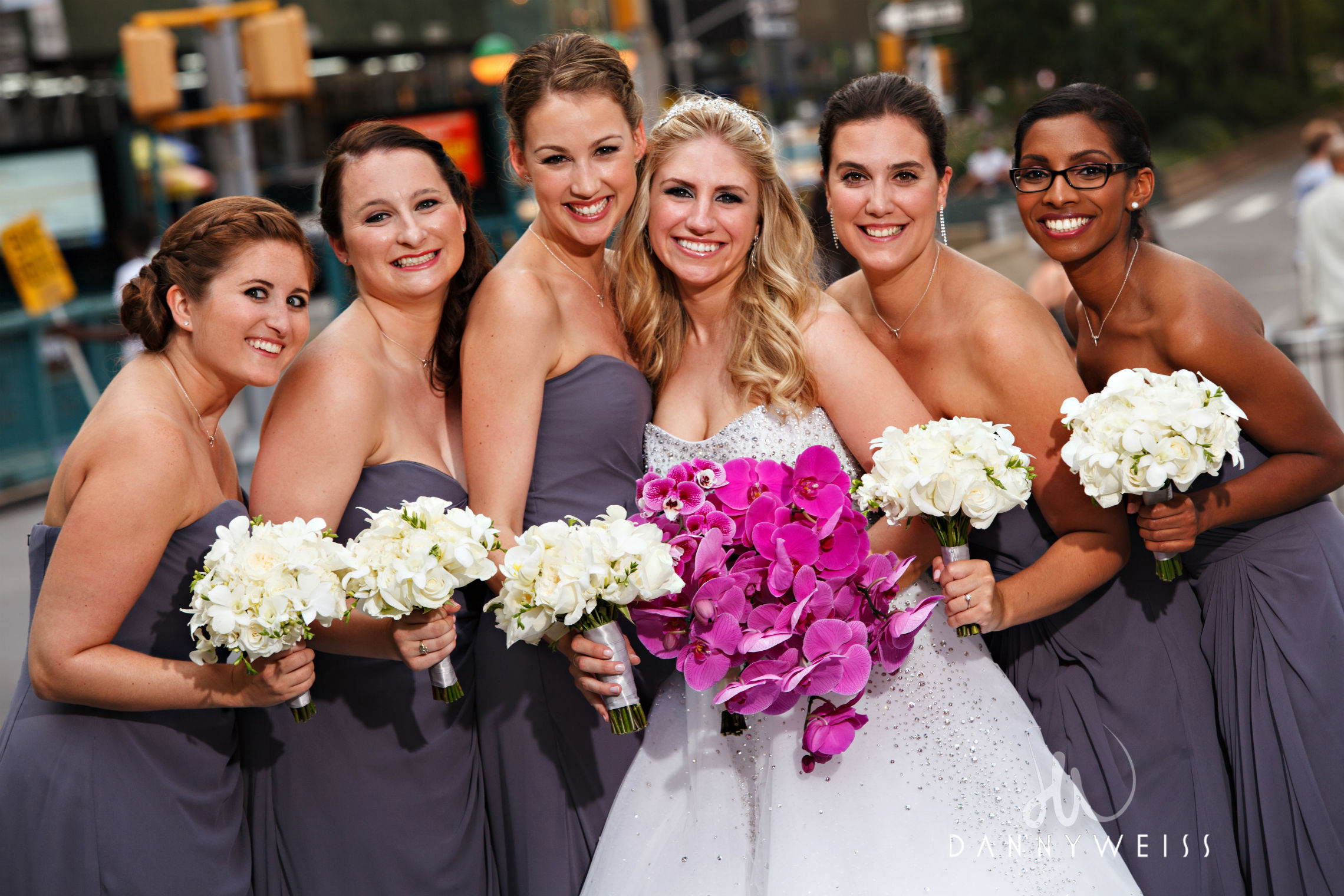 Bridal Party in New York City