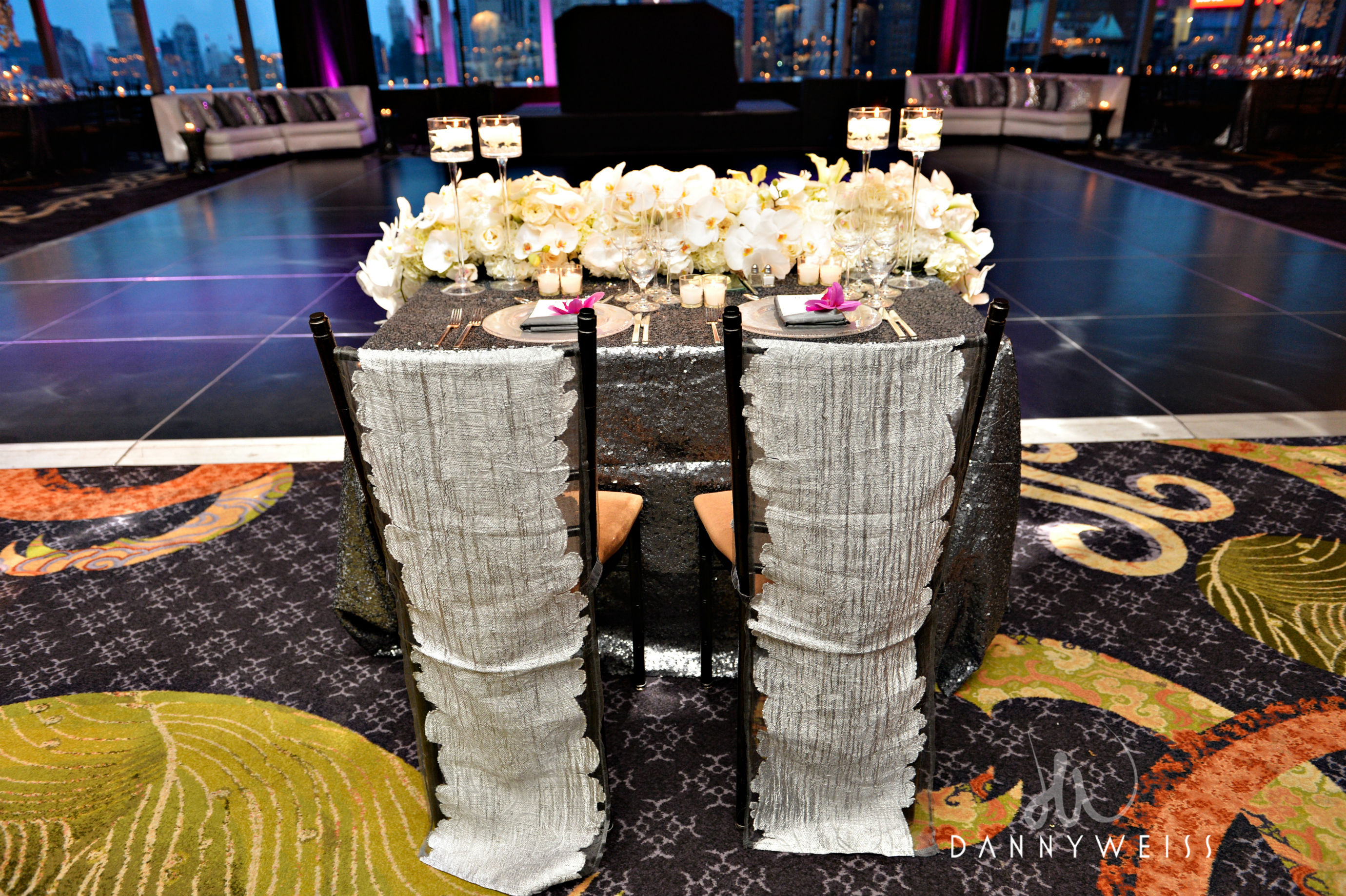 The sweetheart table design