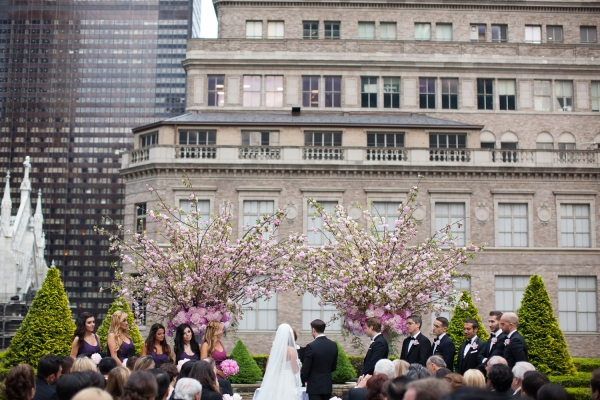 The most beautiful outdoor wedding