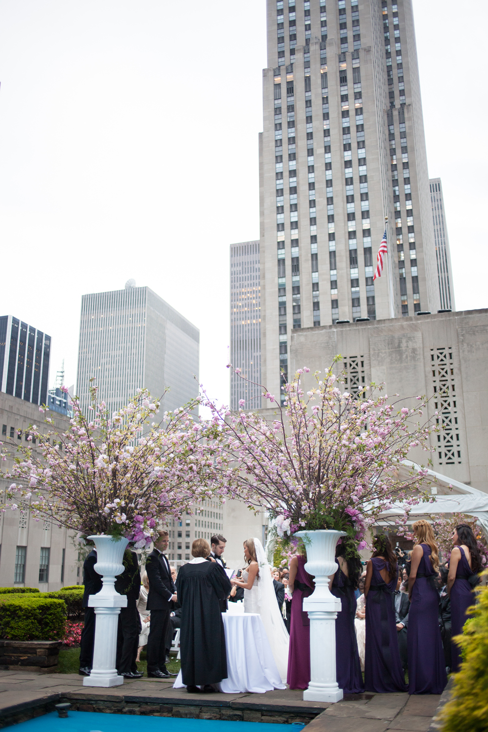 Wedding at the Rockefeller Center NY