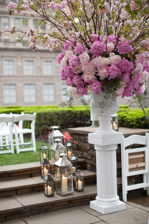 The most beautiful outdoor wedding design