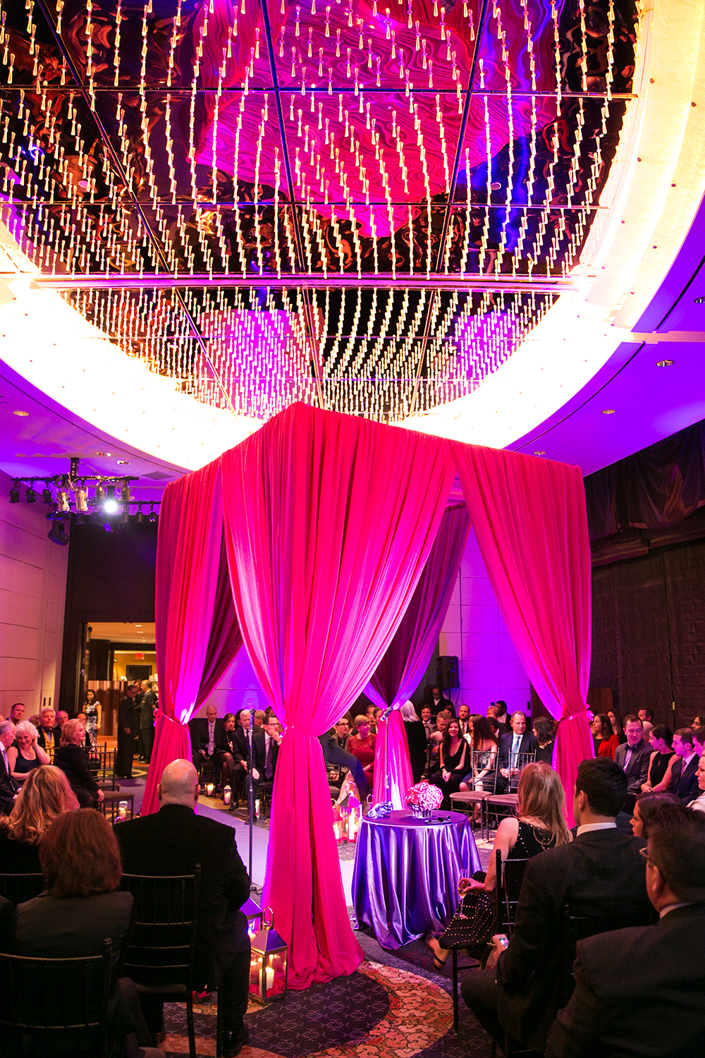 Indian wedding ceremony at Mandarin Oriental Hotel NY