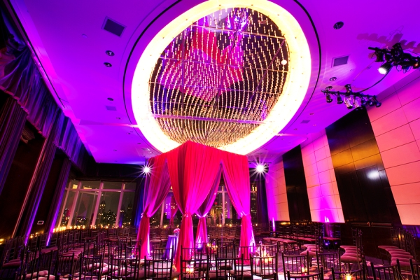 Wedding ceremony design at Mandarin Oriental Hotel NY