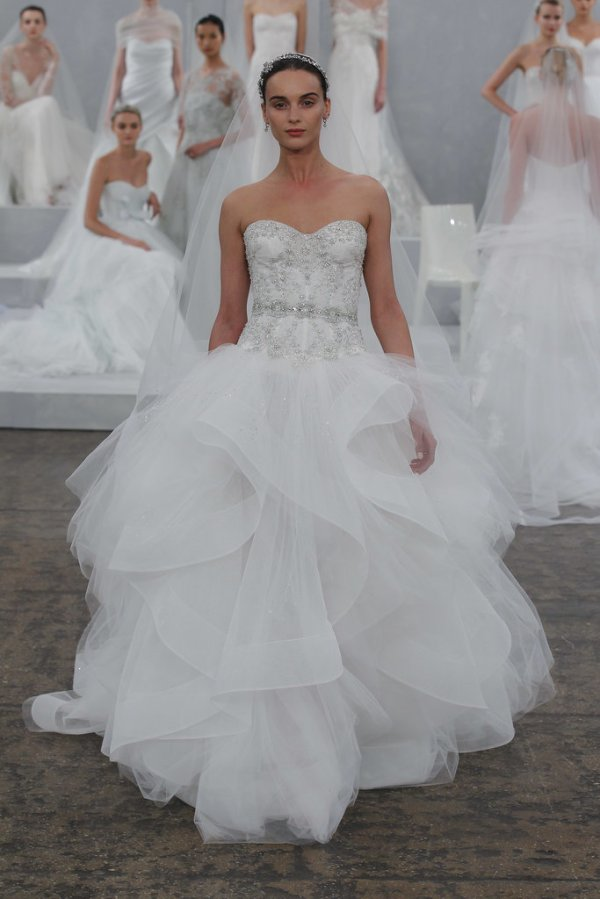 The most beautiful wedding dress
