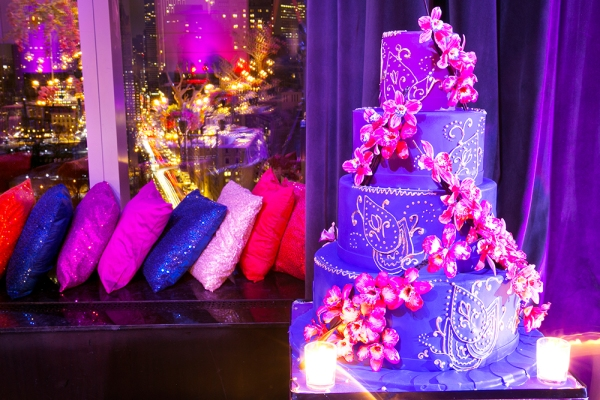 Event decor in Mandarin Oriental NY