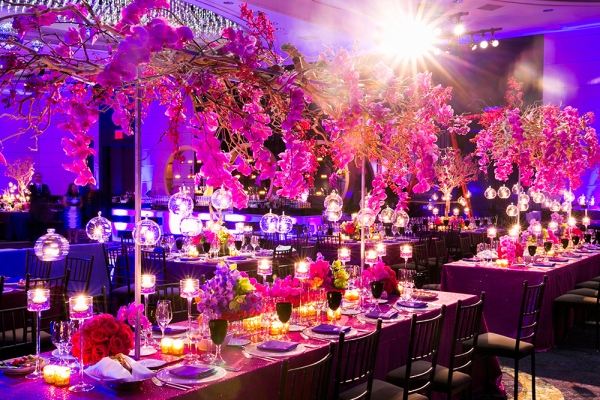 The most beautiful wedding floral design