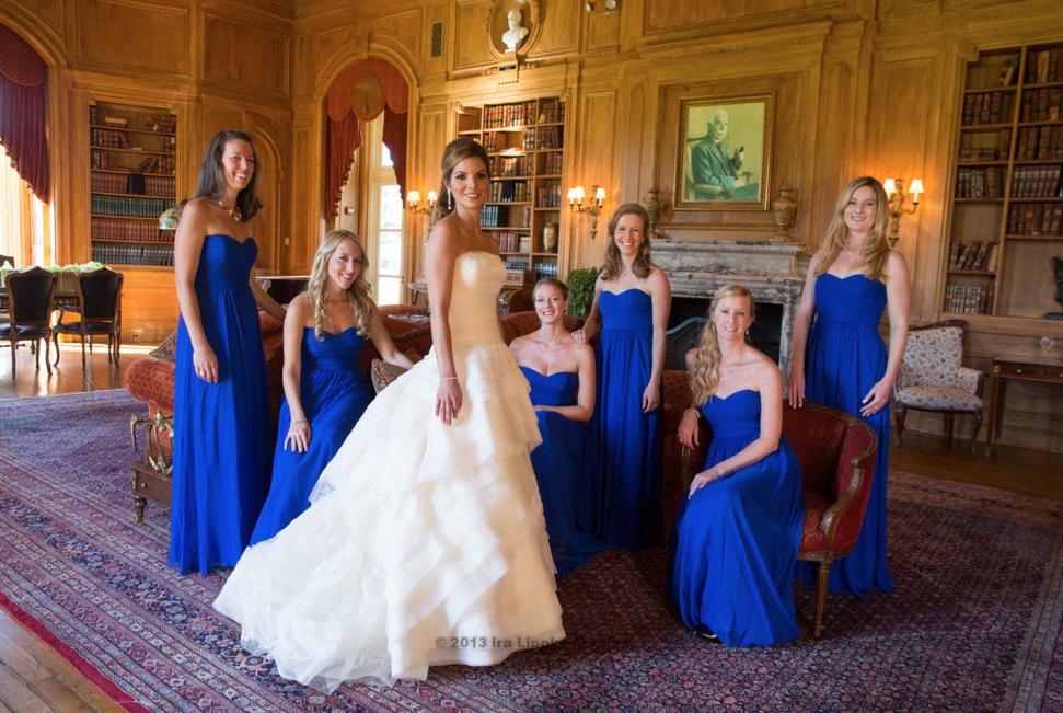 Wedding in Oheka Castle NY