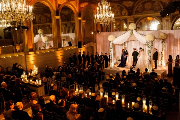 Wedding ceremony at the Plaza Hotel NY