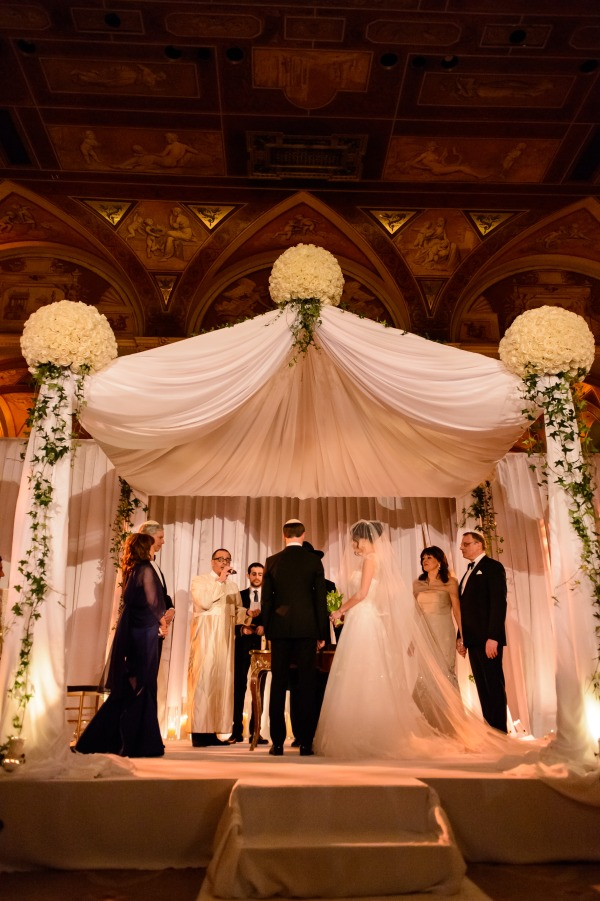 The chuppah design by Tantawan Bloom