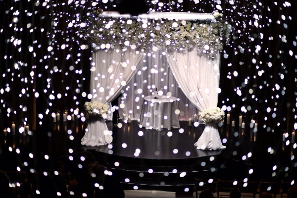 The most beautiful wedding chuppah design
